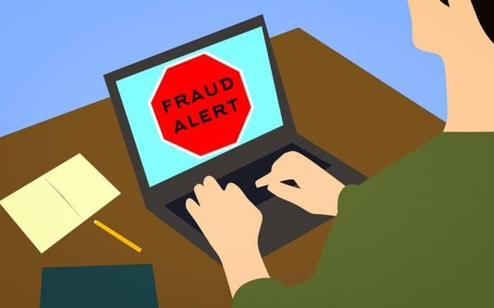 Alerte de fraude frais professionnels