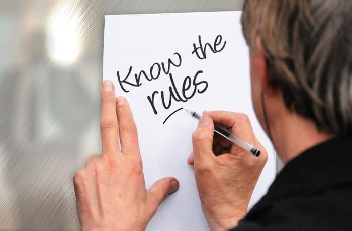Règles liées aux notes de frais en entreprise