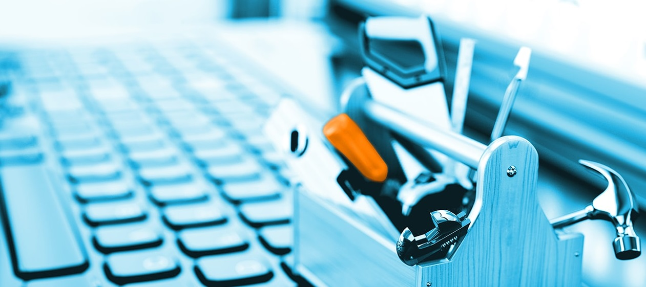 Boite à outils miniature sur PC portable