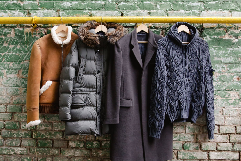 Sélection de manteaux d'hiver pour hommes