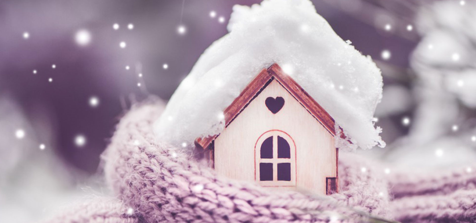 Une maison protégée du froid