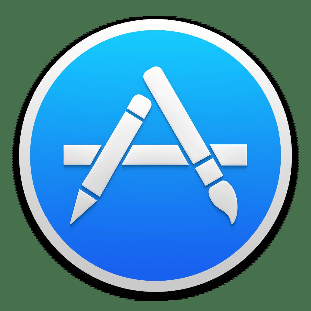 Le logo de l'appstore iOS